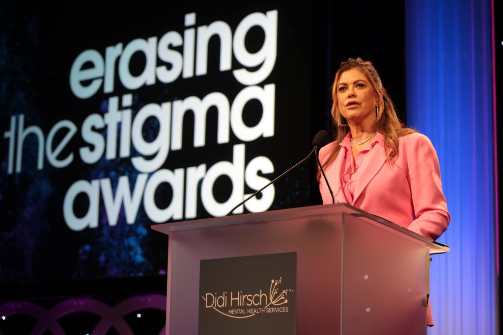 xxx seen at the 2019 Erasing the Stigma Leadership Awards at the Beverly Hilton Hotel on Thursday, April 25, in Beverly Hills, Calif. (Photo by Blair Raughley/Invision for Didi Hirsch Mental Health Services/AP Images)
